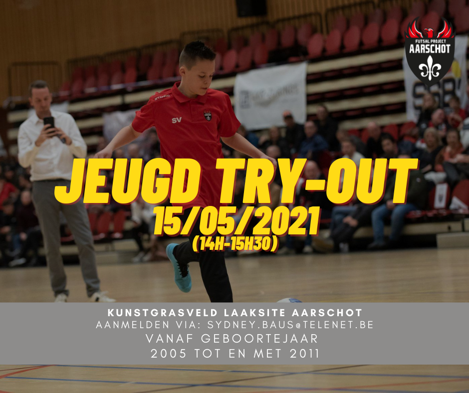 Nieuwe try-out!